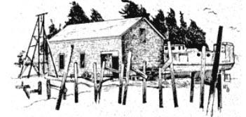 Beaver Island Marine museum sketch