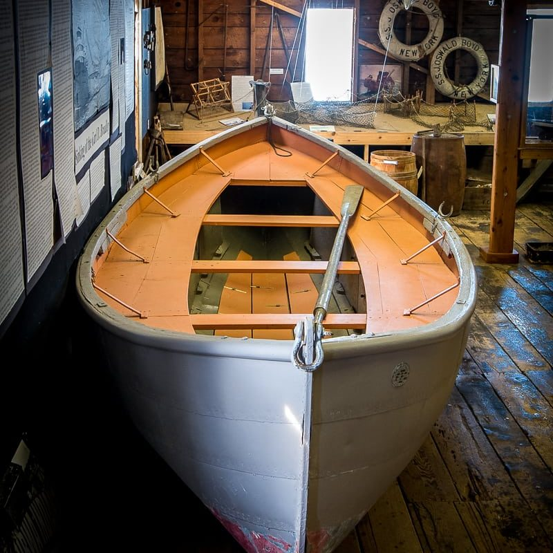 The Life Boat from the Carl D. Bradley